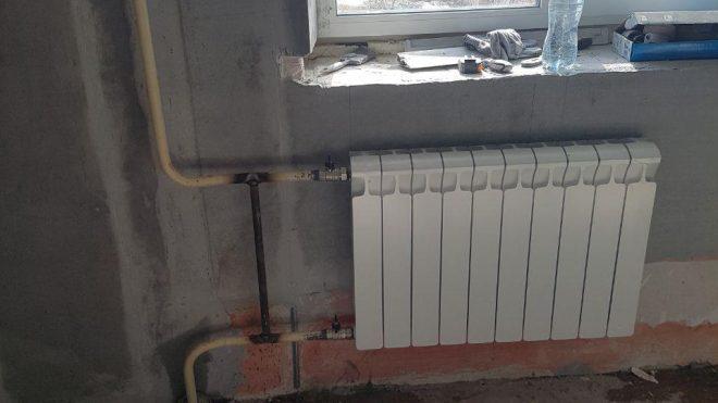 замена радиаторов отопления 2019